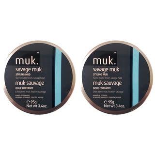 Muk Savage Muk 3.4-ounce Styling Mud (Pack of 2)