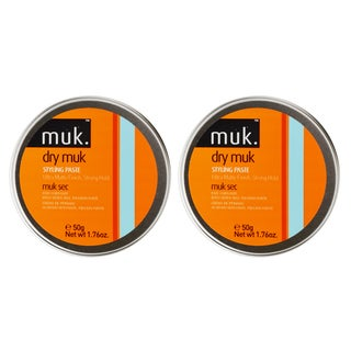 Muk Haircare Dry Strong Hold 1.76-ounce Styling Paste (Pack of 2)