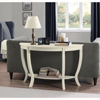 Lewis Cream Wood Sofa Table