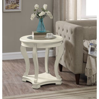 Geurts Cream End Table