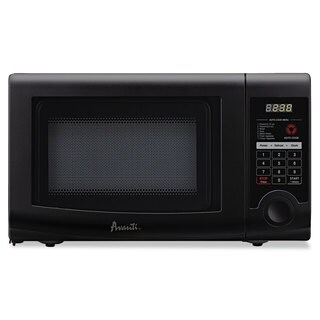 Avanti 0.7 Cubic Foot Capacity Microwave Oven 700 Watts Black