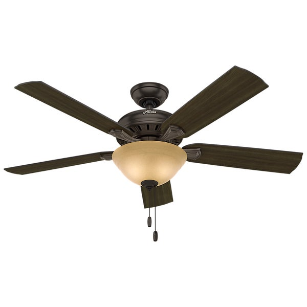 Shop Five-Minute Fan Hunter Fan Fletcher Premier Bronze 52