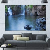 Designart 'Florence Falls in Litchfield' Landscape Wall Art on Canvas
