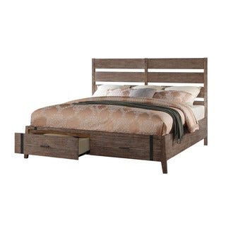 Emerald Home Viewpoint Rustic Storage Bed