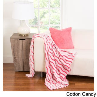 Crayola Colorful Fuzzy Throw (Option: Cotton Candy)