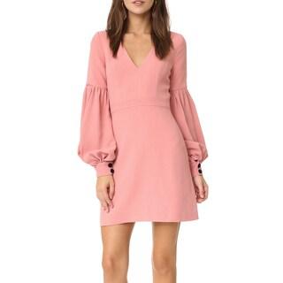 Alexis Women's Ellena Pink Blouson Sleeve Dress