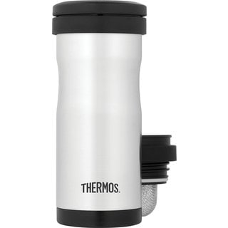 Thermos 12 Oz Vacuum Insulated Tea Tumbler w/ Infuser, Stainless Steel