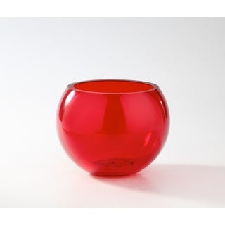 Red Bubble Bowl Vase/Candleholder