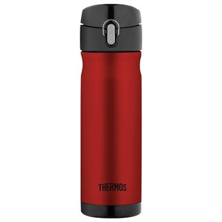 Thermos 16 Ounce Stainless Steel Commuter Bottle (Cranberry)