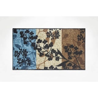 Modern Living Tulips Decorative Accent Rug - 18 x 30 in.