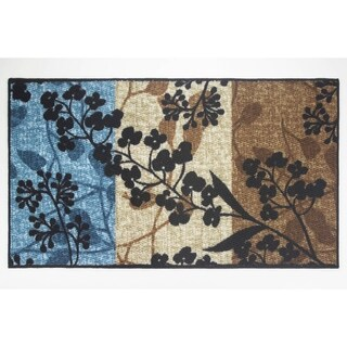 Modern Living Tulips Decorative Accent Rug -
