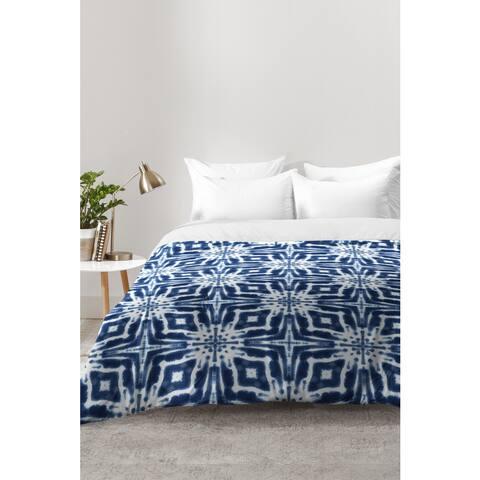 Jacqueline Maldonado Watercolor Shibori Indigo Comforter