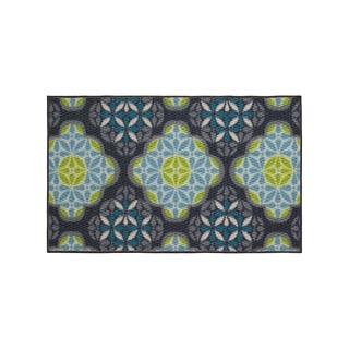 Structures Olivia Textured Printed Accent Rug - (18 x 30 in.)