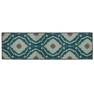 Structures Julianna Textured Printed Accent Rug - (20 x 60 in.)
