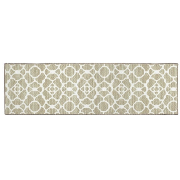 Structures Kohl Textured Printed Accent Rug - (20 x 60 in.)