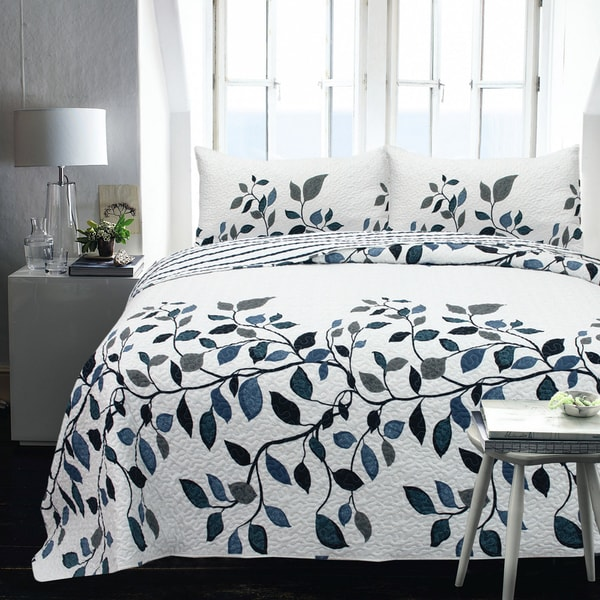 Addelyn Printed 2-piece Coverlet Set