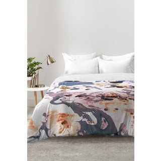 Amy Sia Marbled Terrain Rose Pink Comforter