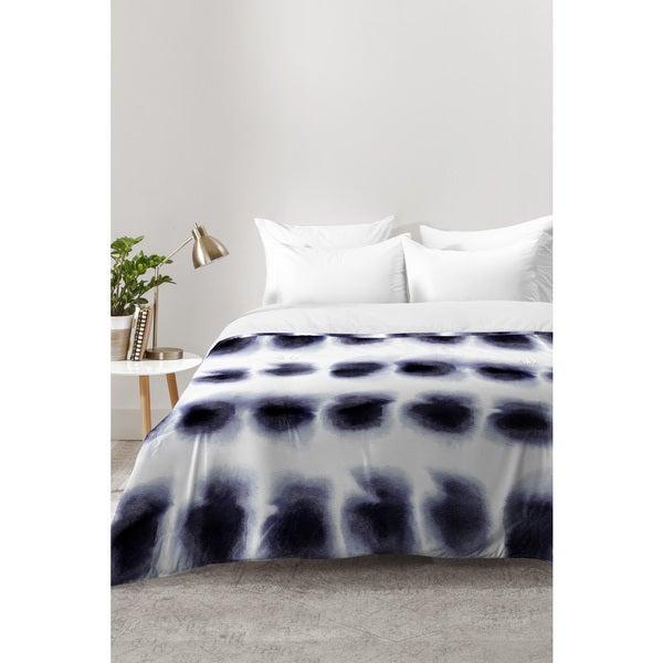 Amy Sia Smudge Black Comforter