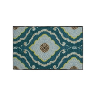 Structures Julianna Textured Printed Accent Rug - (18 x 30 in.)