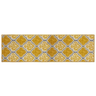 Structures Kiana Textured Printed Accent Rug - (20 x 60 in.)