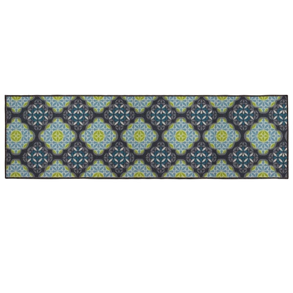 "Structures Olivia Textured Printed Accent Rug - 1'6"" x 5'"