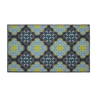 Structures Olivia Textured Printed Accent Rug - (26 x 45 in.)