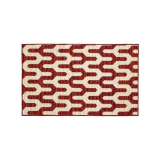 Structures Mila Textured Printed Accent Rug - (18 x 30 in.)