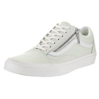 Vans Unisex Old Skool Zip Leather Skate Shoes