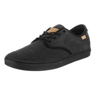 Vans Unisex Ludlow Stealth Fleck Black Textile Skate Shoes