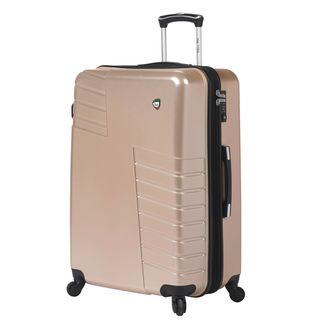 Mia Toro Italy Mondavio Gold ABS and Polycarbonate 28-inch Hardside Spinner Upright Suitcase