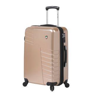 Mia Toro ITALY Mondavio Gold 24-inch Hardside Spinner Upright Suitcase