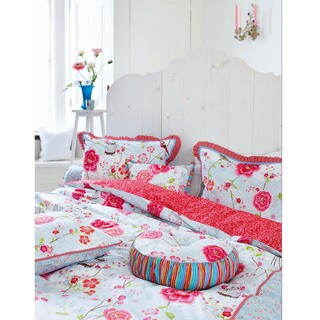 Famous Home Birds in Paradise Cotton Reversible Quilt