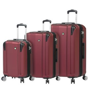 Mia Toro ITALY Navelli 3-piece Hardside Spinner Luggage Set