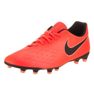 Nike Men's Magista Ola II FG Orange Synthetic-leather Soccer Cleats