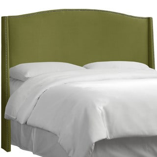 Nail Button Headboard in Velvet- Skyline Furniture