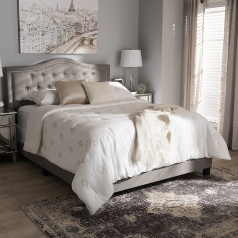 Copper Grove Brentwood Contemporary Upholstered Bed