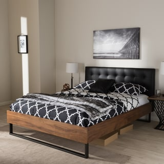 studio bedroom furniture. industrial bed by baxton studio bedroom furniture t