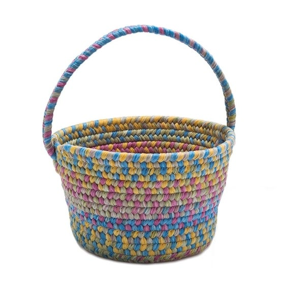Colonial Mills Multicolor Nylon Spring Easter Basket