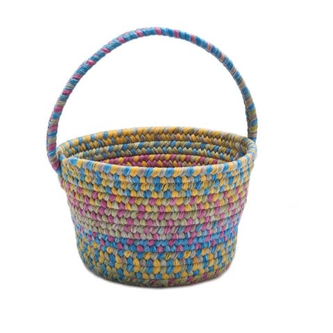 Colonial Mills Multicolor Nylon Spring Easter Basket
