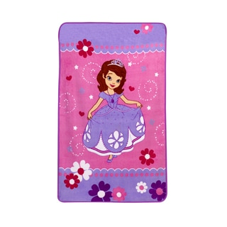 Disney Crown Crafts Sofia in Training Toddler Ultra-soft Blanket
