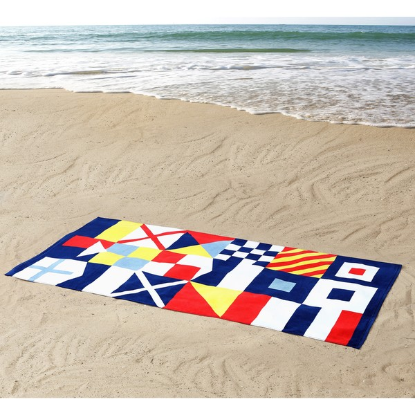 Seedling by Thomas Paul Flags 100% Cotton 36x72 Beach Towel