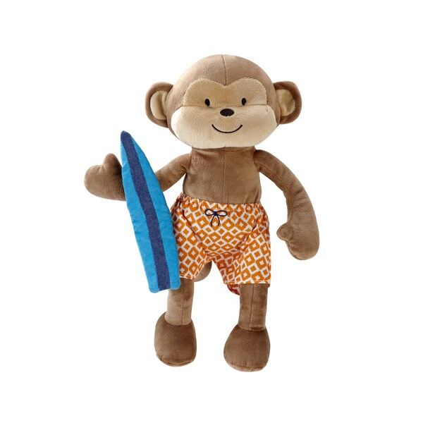 Shop Carter S Laguna Plush Toy Monkey Free Shipping On