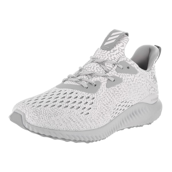 9f5378350546c Shop Adidas Women s Alphabounce AMS Grey Mesh Running Shoes - Free ...