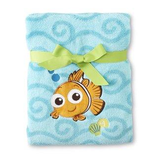Disney Nemo Coral Fleece Blanket