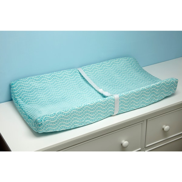 Carter's Laguna Synthetic Fiber Changing Table Cover