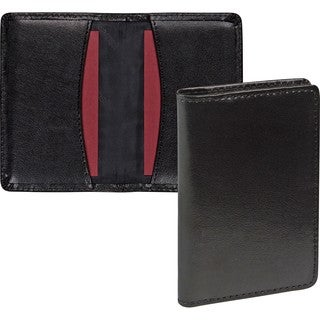 Samsill Carrying Case (Wallet) Business Card - Black