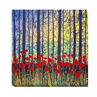 Daniel Lager 'Sunset Poems' Gallery-wrapped Canvas Giclee Art