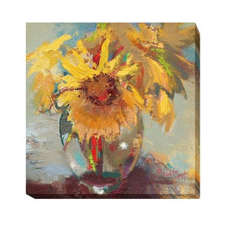 Beth A. Forst 'Water Globe Blossoms' Gallery-wrapped Canvas Giclee Art