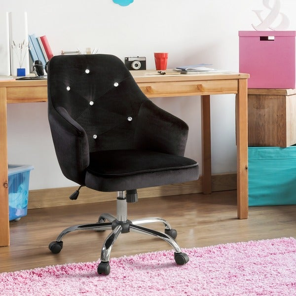 furniture of america kline contemporary tufted flannelette