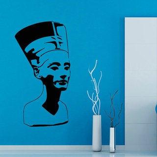 Egypt Nefertiti Egyptian Ruler Beauty Salon Home Decor Art Mural Design Make Up Decals Sticker Decal